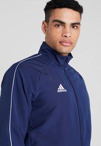adidas Performance - CORE 18 - Training jacket - dark blue/white - 4