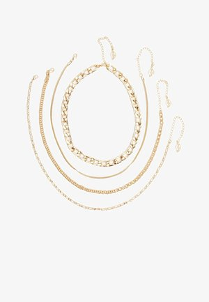 4 PACK - Necklace - gold
