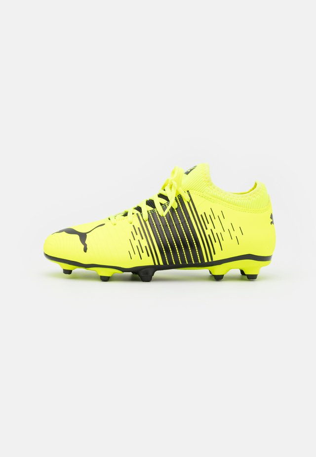 FUTURE Z 4.1 FG/AG JR UNISEX - Moulded stud football boots - yellow alert/black/white