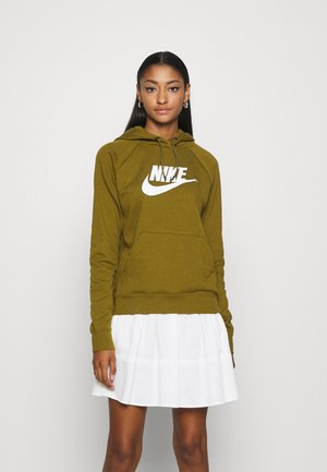 HOODIE - Jersey con capucha - olive flak