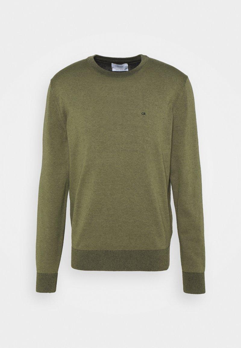 Calvin Klein - C NECK - Jumper - green