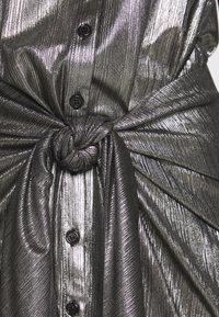 Rebecca Minkoff - WILLOW DRESS - Cocktail dress / Party dress - gunmetal - 4