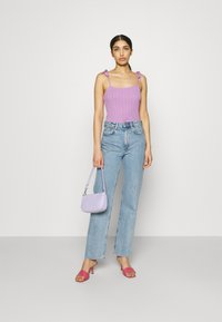 Pieces - PCTHEIA STRAP - Top - sheer lilac - 1