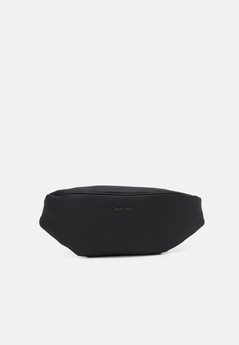 Calvin Klein - WAISTBAG UNISEX - Saszetka nerka - black
