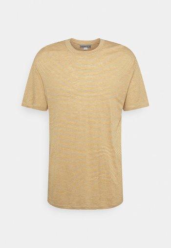 DOWLAS CREWE STRIPE - Print T-shirt - twig