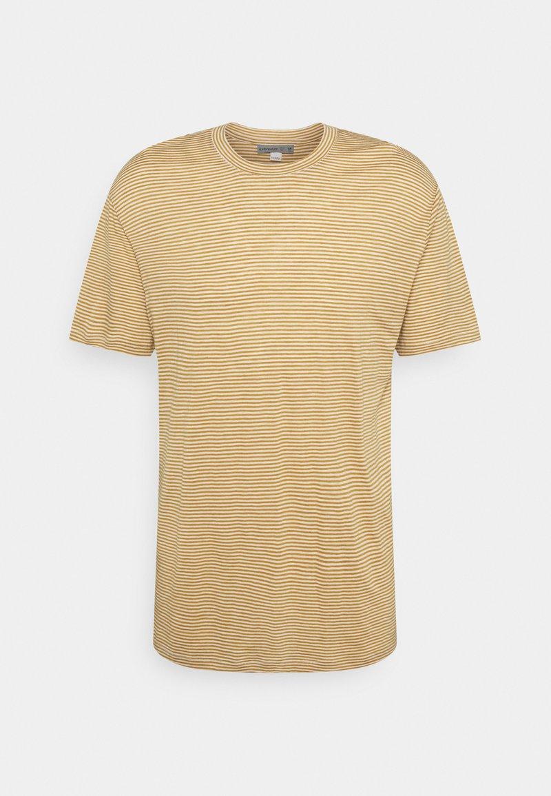 Icebreaker - DOWLAS CREWE STRIPE - T-shirt med print - twig