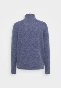 Moss Copenhagen - FEMME ROLL NECK  - Jumper - gray blue melange - 1