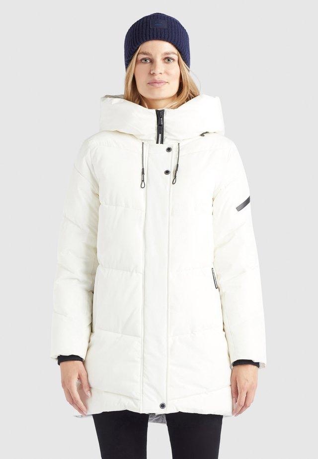 JORDIS2 - Płaszcz zimowy - naturweiß