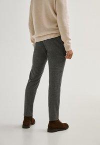 Massimo Dutti - LIMITED EDITI - Trousers - light grey - 1