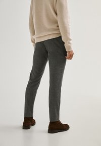 Massimo Dutti - LIMITED EDITI - Pantalon classique - light grey - 1