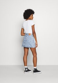 Levi's® - RIBCAGE SKIRT - Denim skirt - light blue denim - 2
