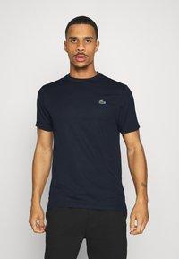 Lacoste Sport - TENNIS - T-shirt basic - navy blue - 0
