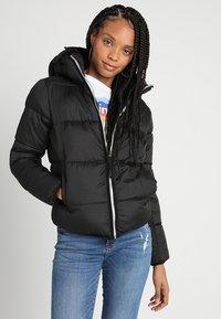 G-Star - MEEFIC SUNDU OVERSHIRT - Winter jacket - dark black - 0