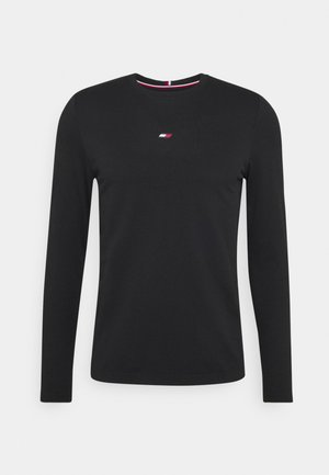 LOGO SEAMLESS - Long sleeved top - black