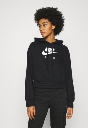 AIR HOODIE - Jersey con capucha - black/white