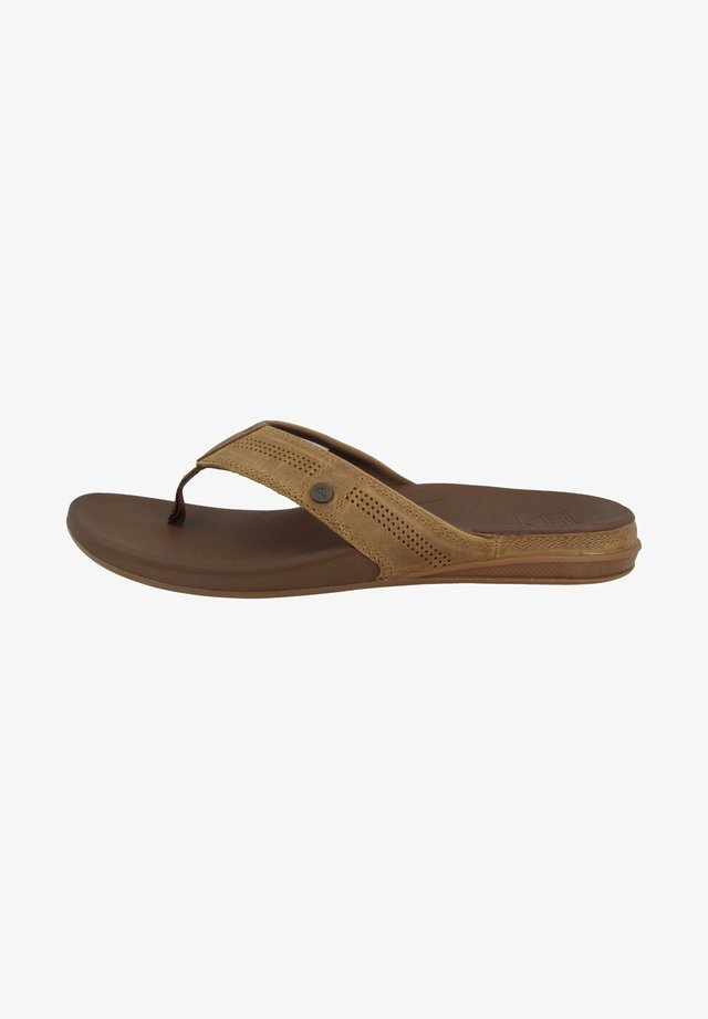 CUSHION BOUNCE LUX - T-bar sandals - brown