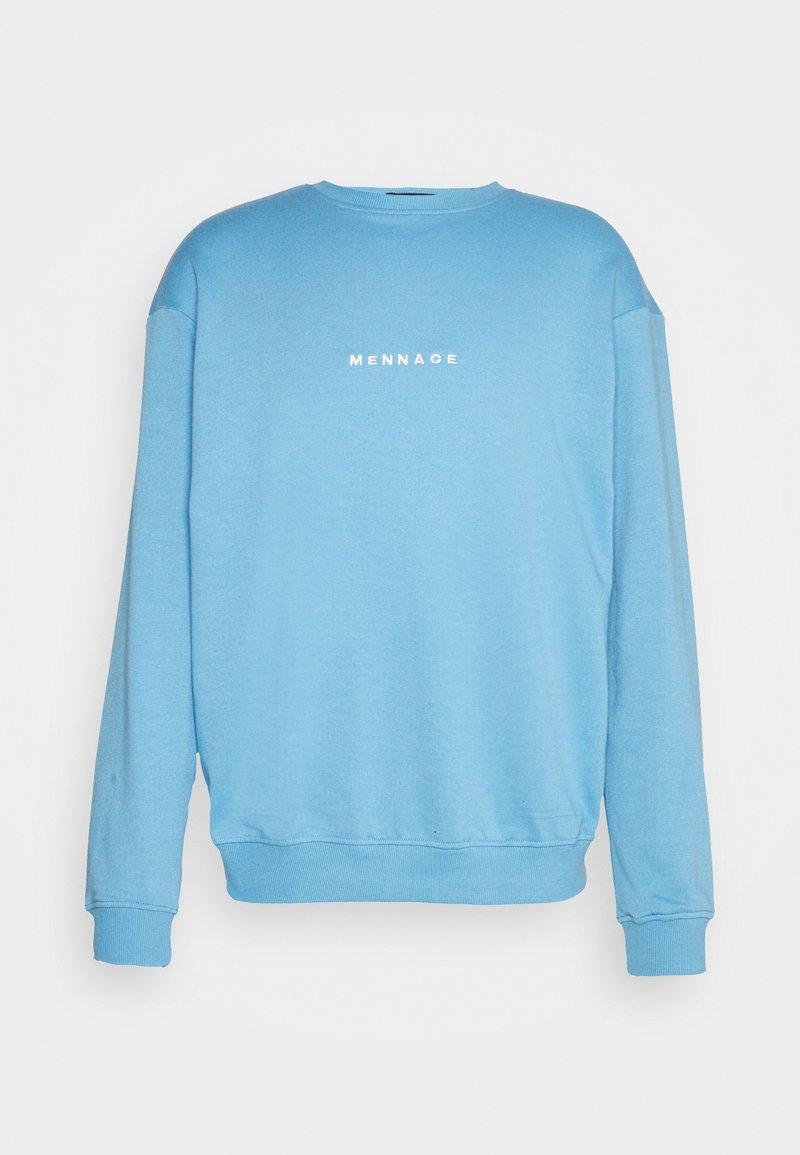 Mennace - ESSENTIAL UNISEX - Sweatshirt - blue