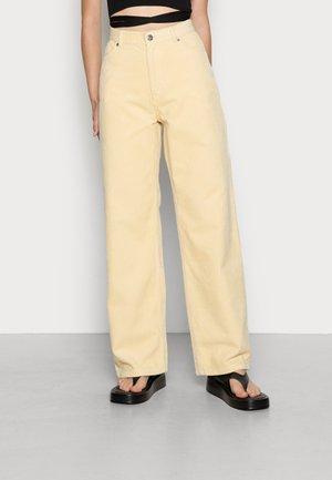 BEA TROUSERS - Kalhoty - beige light
