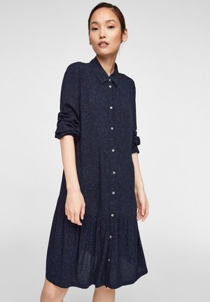 MET MILLEFLEURS PRINT - Robe chemise - dark blue aop