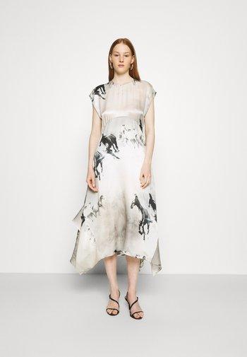 GIANNA EPOTO DRESS - Maxi dress - ecru white
