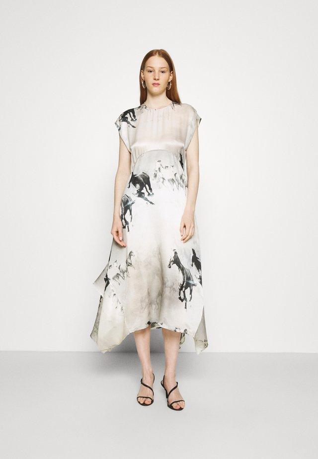 GIANNA EPOTO DRESS - Długa sukienka - ecru white