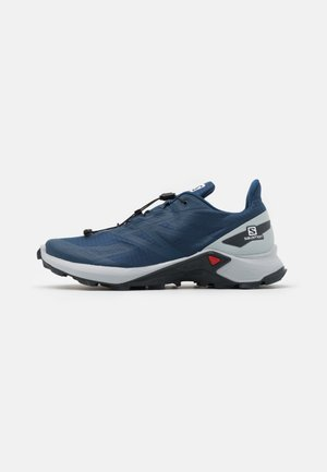 SUPERCROSS BLAST - Trail running shoes - dark denim/pearl blue/ebony
