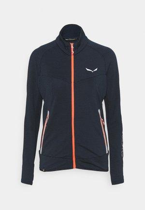 PEDROC - Fleece jacket - navy blazer melange
