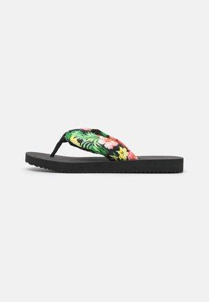 TUBE TROPICS - T-bar sandals - black