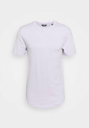 ONSMATT LIFE LONGY TEE 7 PACK - T-shirt - bas - surf spray/pastel green/purple heather/pale banana/papaya/wood rose/azalea pink