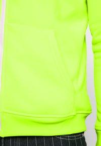Brave Soul - MAGENTA - veste en sweat zippée - neon yellow - 5