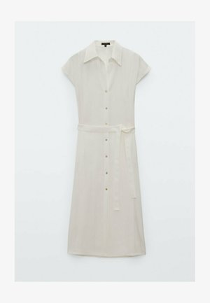KURZÄRMELIGES  - Sukienka koszulowa - white