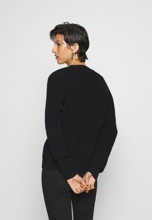 PCKARIE  - Cardigan - black