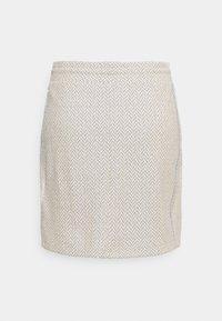 Rich & Royal - SKIRT - Mini skirt - pearl white - 1
