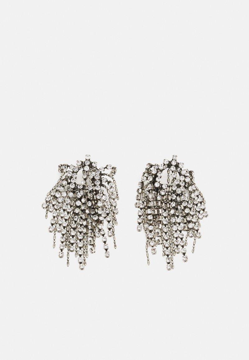 DANNIJO - CECILE EARRINGS - Örhänge - silver-coloured