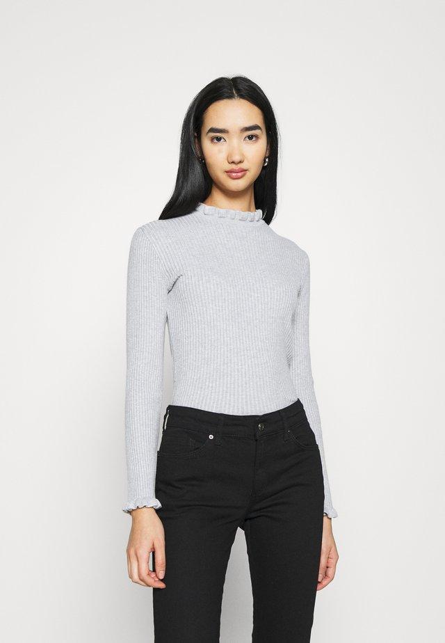 ABELA JUMPER - Sweter - graumeliert