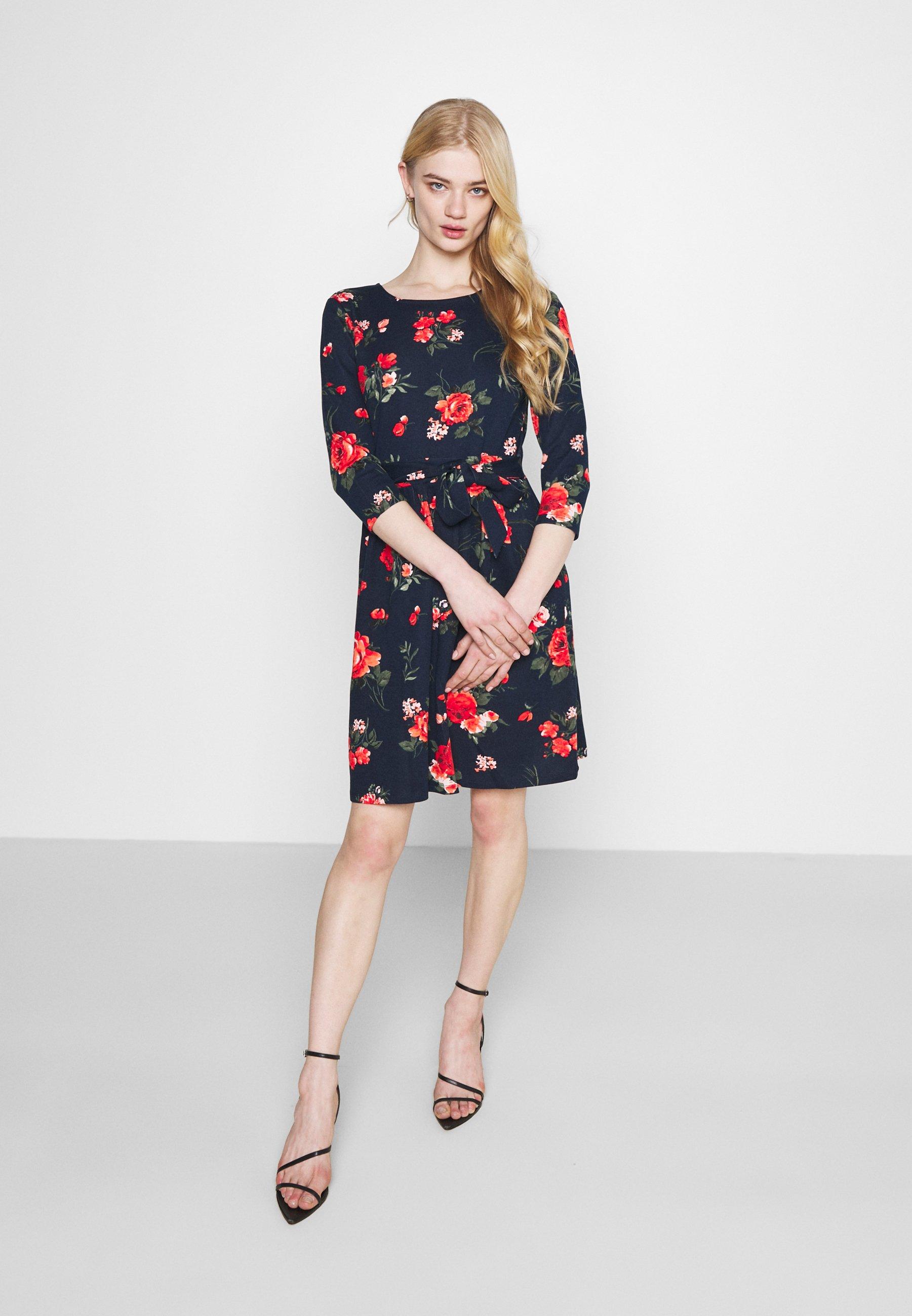 Women VITINNY SLEEVE BOW DRESS - Jersey dress