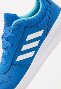 adidas Performance - VECTOR K UNISEX - Sportschoenen - glow blue/footwear white - 2