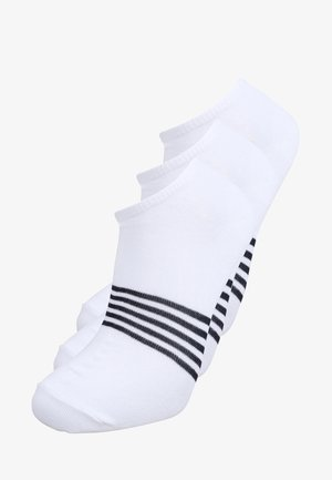 LOW CUT STRIPE 3 PACK - Sukat - white