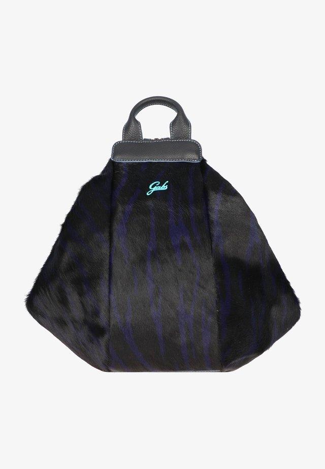 GRETA - Handbag - zebra violet-black