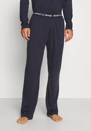 RETRO SHIELD PANTS - Pyjamahousut/-shortsit - evening blue