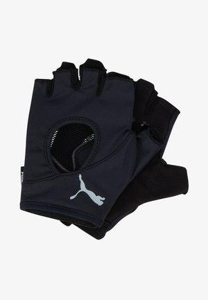 AT GYM GLOVES - Fingerless gloves - black/gray