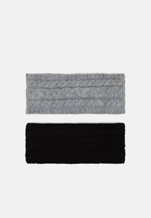 2 PACK - Čelenka - grey/black