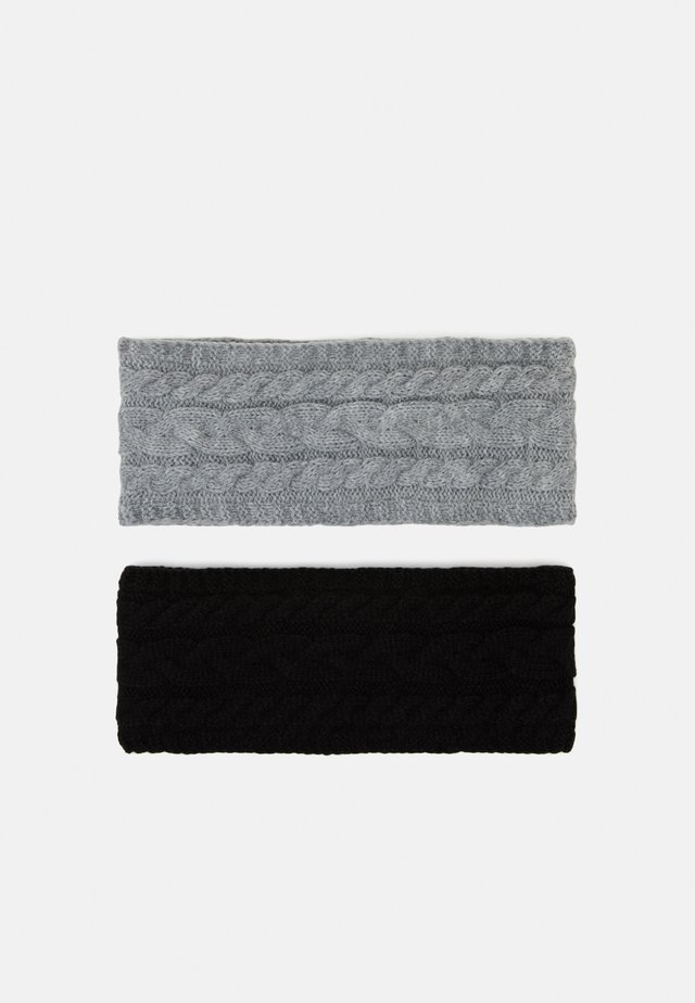 2 PACK - Ørevarmere - grey/black