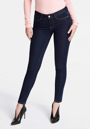 JEANS SUPER SKINNY FIT - Jeansy Skinny Fit - dunkelblau