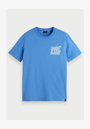 CHEST LOGO - Print T-shirt - light blue