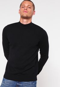 Pier One - Strickpullover - black - 0