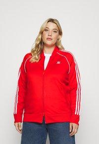 adidas Originals - TRACKTOP - Giacca sportiva - red - 0