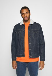Only & Sons - ONSLOUIS LIFE JACKET - Jeansjacka - blue denim - 0