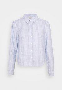 ONLY - ONLLORRY LIFE STRIPE - Button-down blouse - white - 3