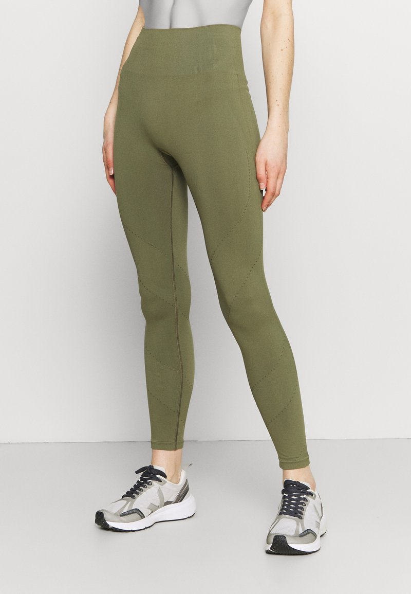 ARKET - Leggings - khaki green